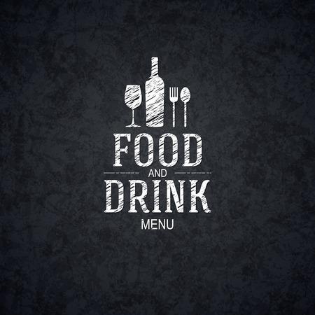 Conception des menus des restaurants Banque d'images - 27331937