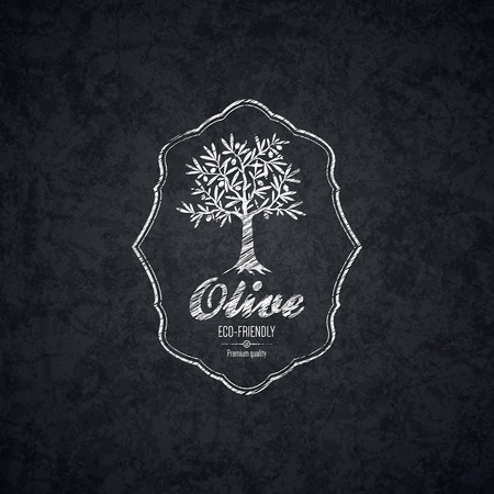 сбор винограда: Оливковое дизайн этикетки