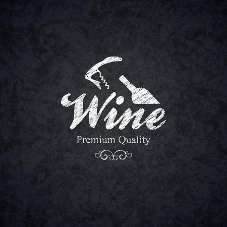wine label: Wine label design