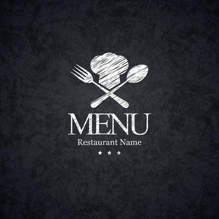 Diseño del menú del restaurante Foto de archivo - 27331988