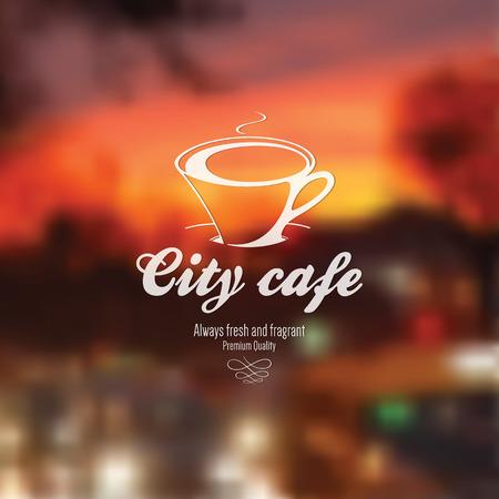 Menú para restaurante, cafetería, casa de café bar, Ilustración de vector