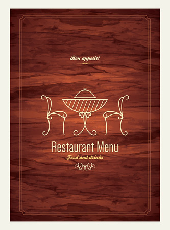 Conception des menus des restaurants Banque d'images - 29616500