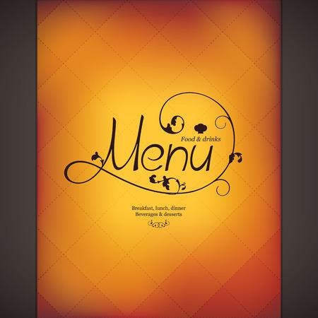 diners: Restaurant menu design