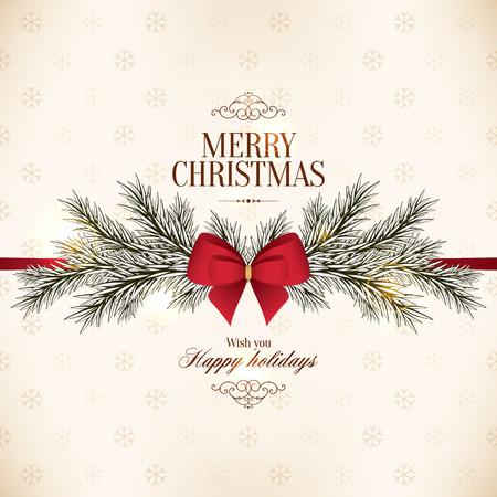 weihnachtsschleife: Weihnachten und Neujahr.