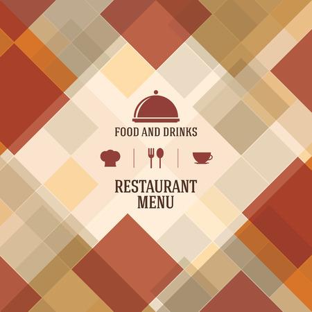 logo de comida: Dise�o del men� del restaurante