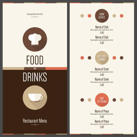 design: Restaurant menu design