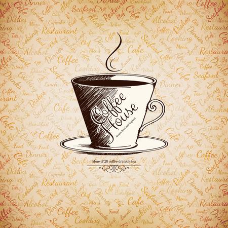 cafe bar: Menu for restaurant, cafe, bar, coffee house