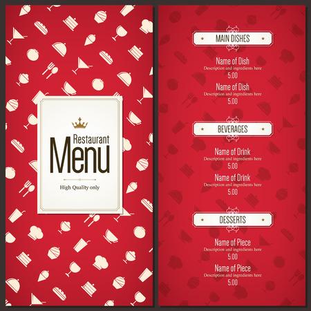 logos restaurantes: Dise�o del men� del restaurante