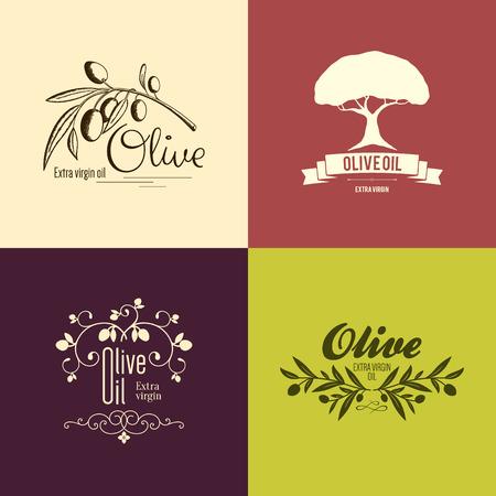 foglie ulivo: Etichetta Olive, logo design