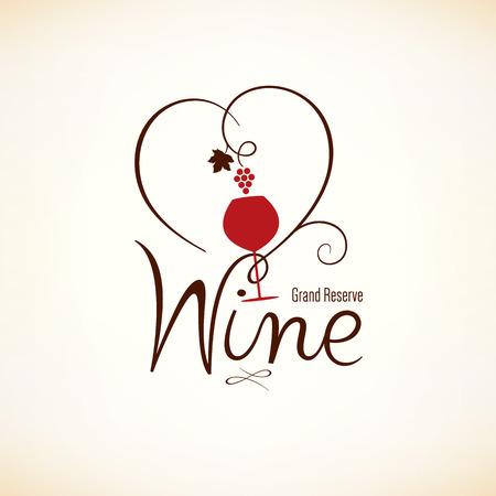 Wine list design  イラスト・ベクター素材