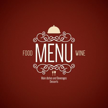 Restaurant menu design Stok Fotoğraf - 39948211