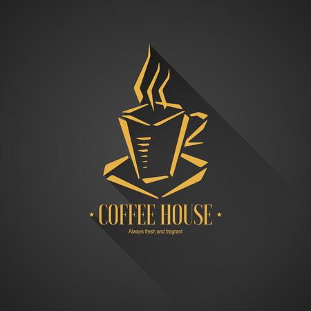 coffeehouse: Menu for restaurant cafe bar coffeehouse