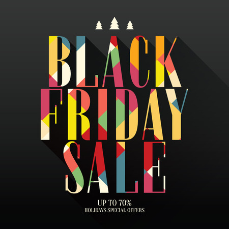 sellout: Design poster for black friday sales