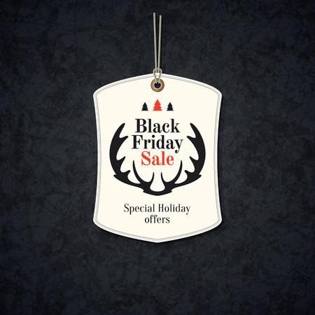 premium: Design poster for black friday sales