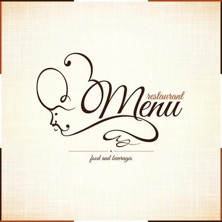 coffeehouse: Retro restaurant menu design