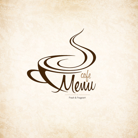 drinking coffee: Menu for restaurant, cafe, bar, coffee house