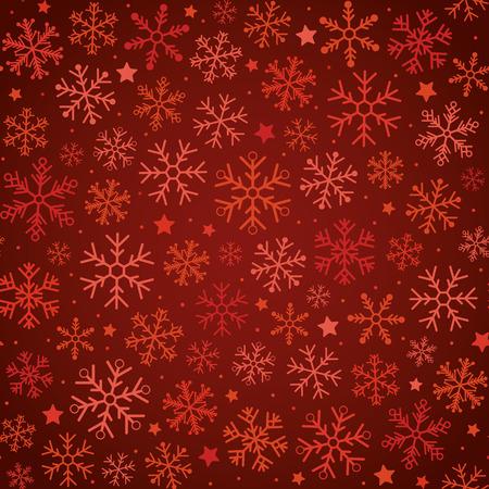 festive: Christmas festive snowflakes seamless background