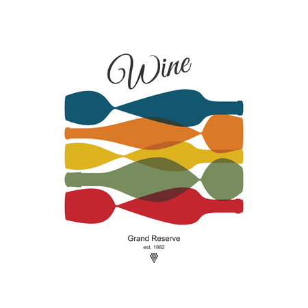 texture: Wine list design Illustration