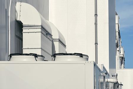 Supermarket ventilation system Imagens