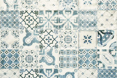 Texture Of Ceramic Tiles In Oriental Turkish Style. Turkish Ceramic ...
