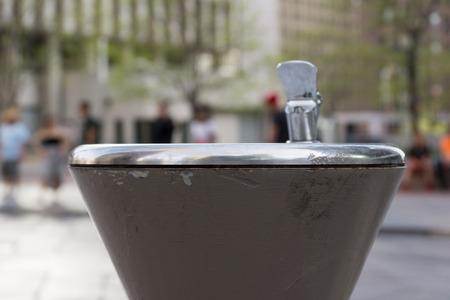 16th street mall: Water fountain near 16th Street Mall in Denver, Colorado