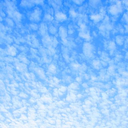 floccus: Altocumulus clouds floccus Stock Photo