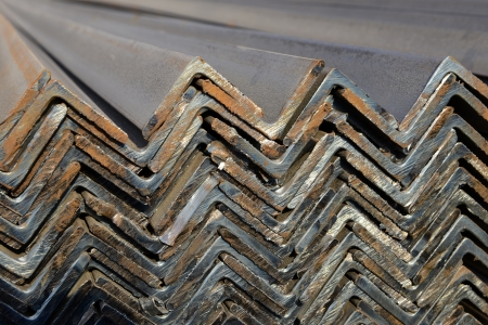 piled: piled up steel