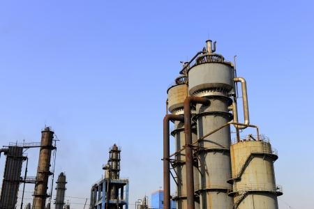 Cokesfabriek apparatuur in de fabriek