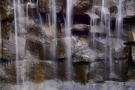 water feature: Rock flowing stream features