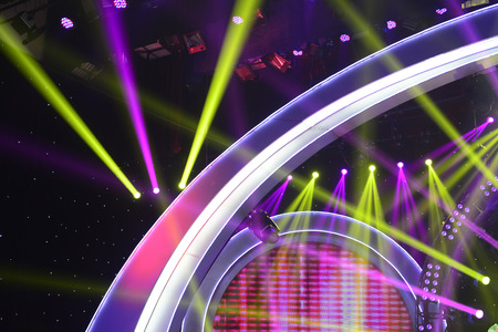 lighting background: Colorful stage lighting background