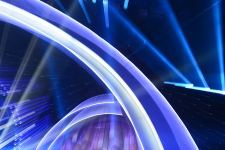 lighting background: Background of radial beautiful stage lighting effects