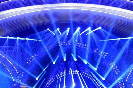 efectos especiales: Los efectos especiales de luces del escenario de fondo