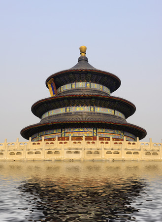 temple of heaven: QiNianDian temple of heaven park in Beijing