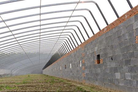 capacious: steel structure of greenhouses