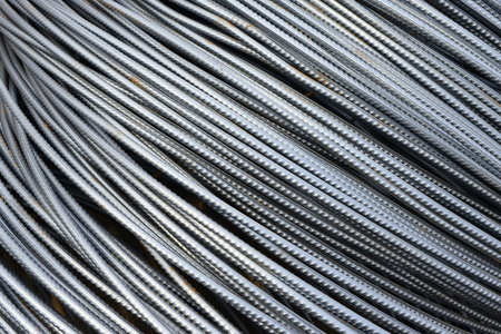 durable: Many steel together, close-up