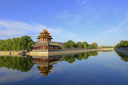 Beijing scenic the Imperial Palace watchtower