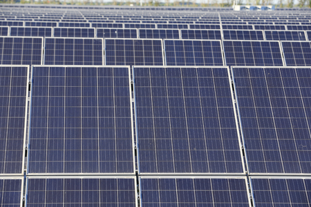 Solar photovoltaic panels and solar photovoltaic power generation systems 写真素材