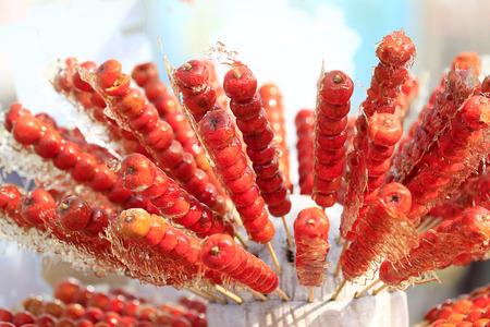 candied hawthorn sticks