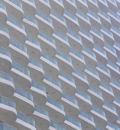 closeup of tall building 版權商用圖片