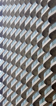 closeup pf tall building