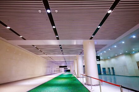 Neat airport passage in tianjin, China