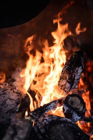 oxygene: Fire Stock Photo