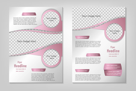 template design. For business brochure, leaflet or cover