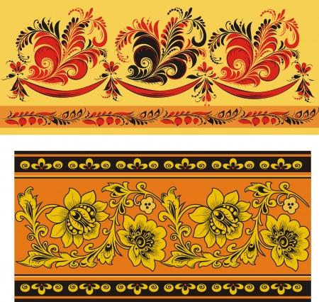 Two patterns Illustration