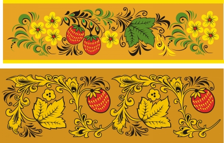 Two decorative patterns