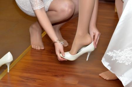 Shoes dress fiancee