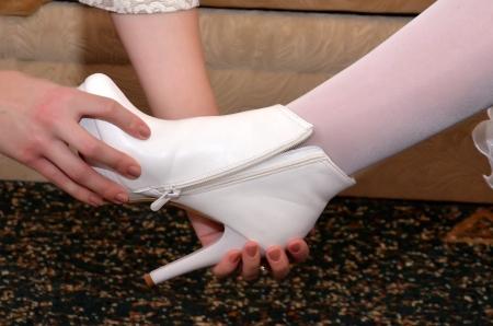 Shoe of fiancee