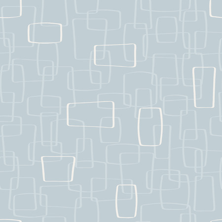 Vector Light Gray Mod Shapes Seamless Pattern Background