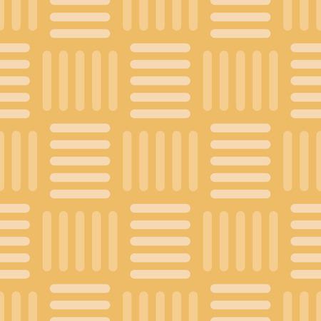 Vector Vintage Gold Basketweave Seamless Pattern Background