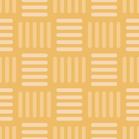 Vector Vintage Gold Basketweave Seamless Pattern Background